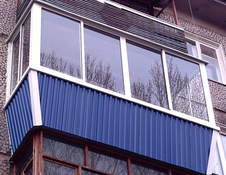 Внешняя отделка балкона фото 7