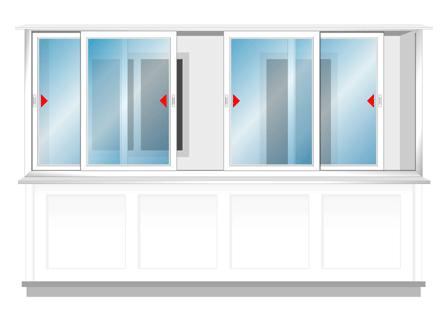 Пластиковые балконы - балконы, лоджии, двери из пвх(раздвижн.